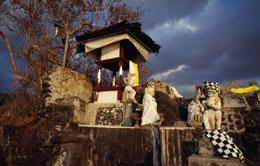 Pura Batu Bolong Lombok Island