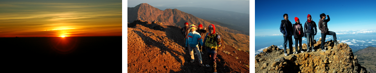 Rinjani Trekking Top 2 Days - 1 Night