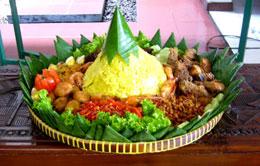 Tumpeng Rice