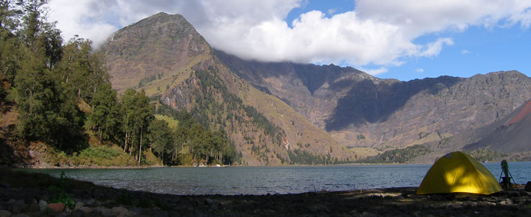 Rinjani Trekking 4 Days 3 Nights Via Senaru Route