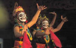 Kuncaran Mask Dancer from West Java